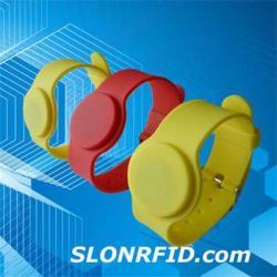 Silastic Muñequera LF RFID Etiqueta ST-320