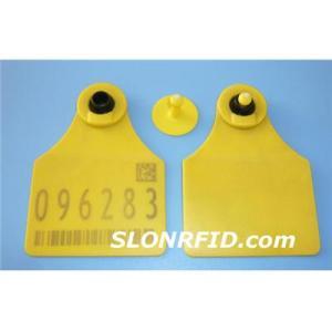 TPU Animal LF RFID Etiqueta ST-340