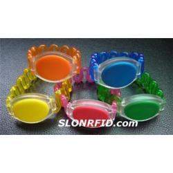 Plastic Etiqueta Wristband RFID HF ST-490