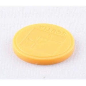 860 ~ 960 OEM extranjero Etiqueta Higgs-3 chip RFID Etiquetas inteligentes ABS Coin