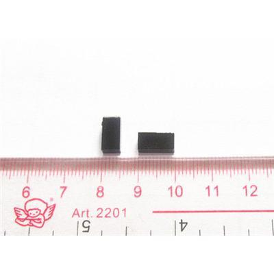 96 Bits Pequeño Negro UHF metal Tag Cerámica Metal Tag 4.8 * 4.8 * 3 mm Para Tracking Tool Pequeño