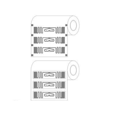 860 ~ 960 MHz RFID Etiqueta , UHF Impinj E52 Sticker etiqueta
