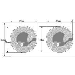 HF RFID 13,56 MHz Etiquetas S50 / FM1108 chip RFID Etiqueta