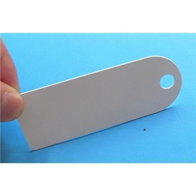 Etiqueta de PVC duro para Managemen activos