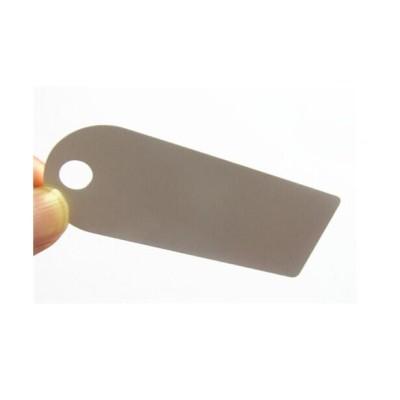 Ropa PVC RFID Etiqueta, 860 ~ 960MHz PVC duro Etiqueta