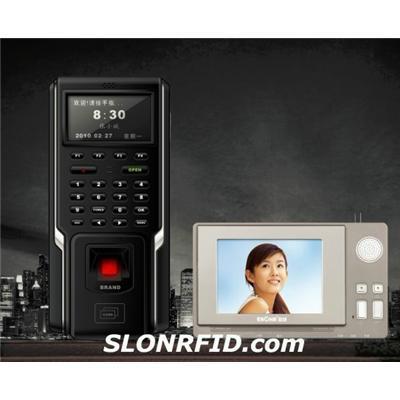 Intercomunicador del vídeo del control de acceso de la huella digital