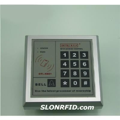 Regulador del acceso del metal de RFID
