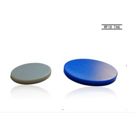 UHF/HF/LF Ultralight chip RFID Patrolling button RFID tags