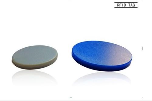 UHF/HF/LF Ultralight chip RFID Patrolling button RFID tags