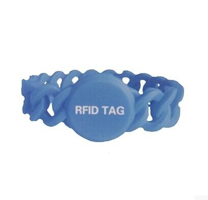 RFID硅胶手腕带标签 F1108复亘芯片