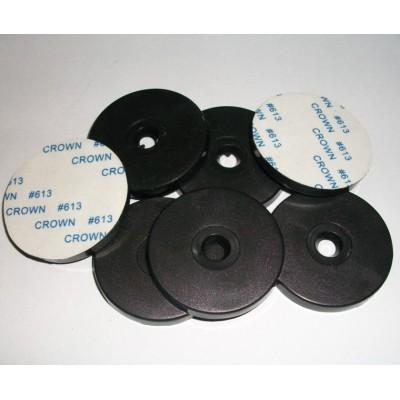 40MM直径13.56MHZ抗金属标签ISO14443A巡更扣MF1S50设备巡检标签