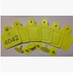 SLrfid-UHF动物耳标RFID电子牛耳标915MHZ-ISO18000-6C牛耳标