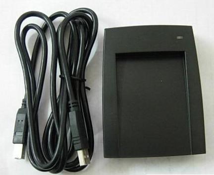 SL300免驱动ID卡读卡器125khz低频TK4100卡读卡器读10位十进制 身份识别标签