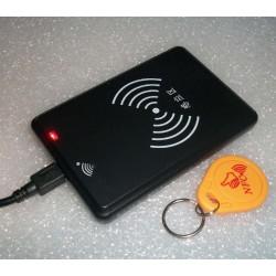 SL308系列125KHZ低频ID读卡器tk4100,em4100卡读卡器USB口读卡器