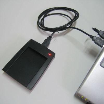 SL300免驱动ID卡读卡器125khz低频TK4100卡读卡器读8位十六进制 身份识别标签