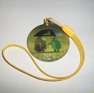 吊牌标签NFC tag送机器人 ISO14443A NXP Mifare1 s50电子标签NFC手机标签