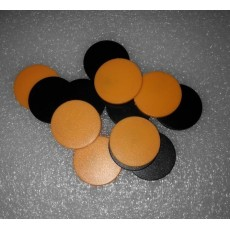 SLRFID-HF钱币卡30MM直径125KHZ低频T5557/T5567/T5577钱币卡地标卡可读可写ID卡