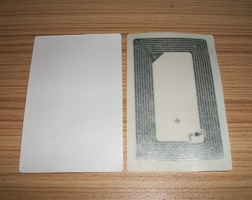 NFC智能手机电子标签M1 S50不干胶可贴RFID不干胶电子标签86*54MM