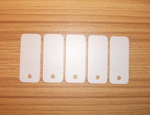 13.56MHZ-ISO14443A-MIFARE 1 S50芯片珠宝标签,吊牌标签36*15MM