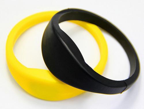 EM4305硅胶手腕带 TK4100硅胶手腕带 F08硅胶手腕带 RFID硅胶手腕带