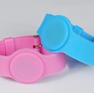 RFID硅胶手腕带、ID手表卡、ID手腕带、ID腕带卡、儿童腕带