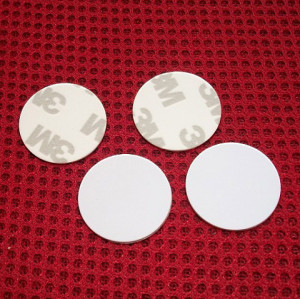 13.56MHZ high frequency IC coin card S50 round coin card RFID card   14443A round card (25MM)