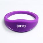 RFID sauna bath hand hand hand fitness RFID wrist band smart card TK4100 chip