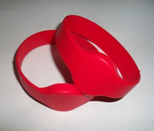5色125KHZ低频TK4100,EM4100芯片手表型腕带ID手表卡硅胶腕带标签