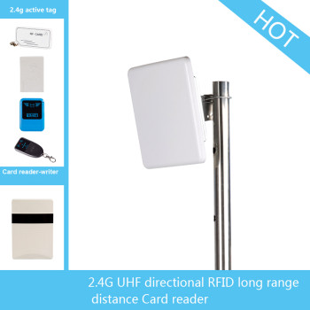 Long distance 2.4G directional active RFID card reader UHF 2.4g reader
