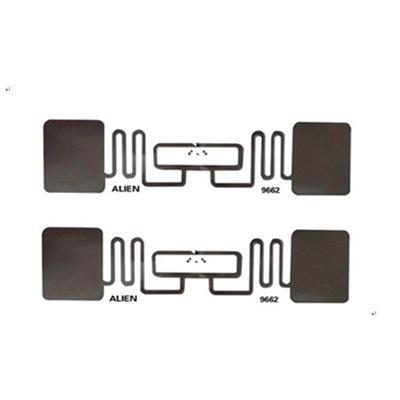 860 ~ 960 МГц RFID наклейки Теги Чужой 9662, ПЭТ / бумага с покрытием