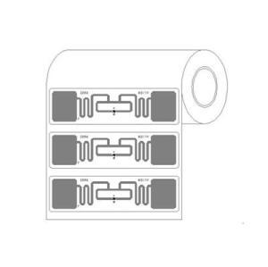 5-6 м Дальность считывания RFID-наклейки УВЧ теги, Чужие Хиггса 3 9662