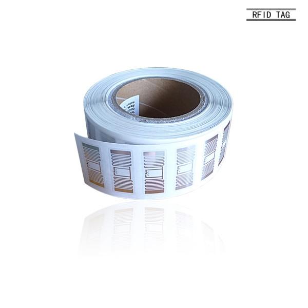 Glue / Wave-absorbing 13.56MHz HF Paper Rfid Metal Tag