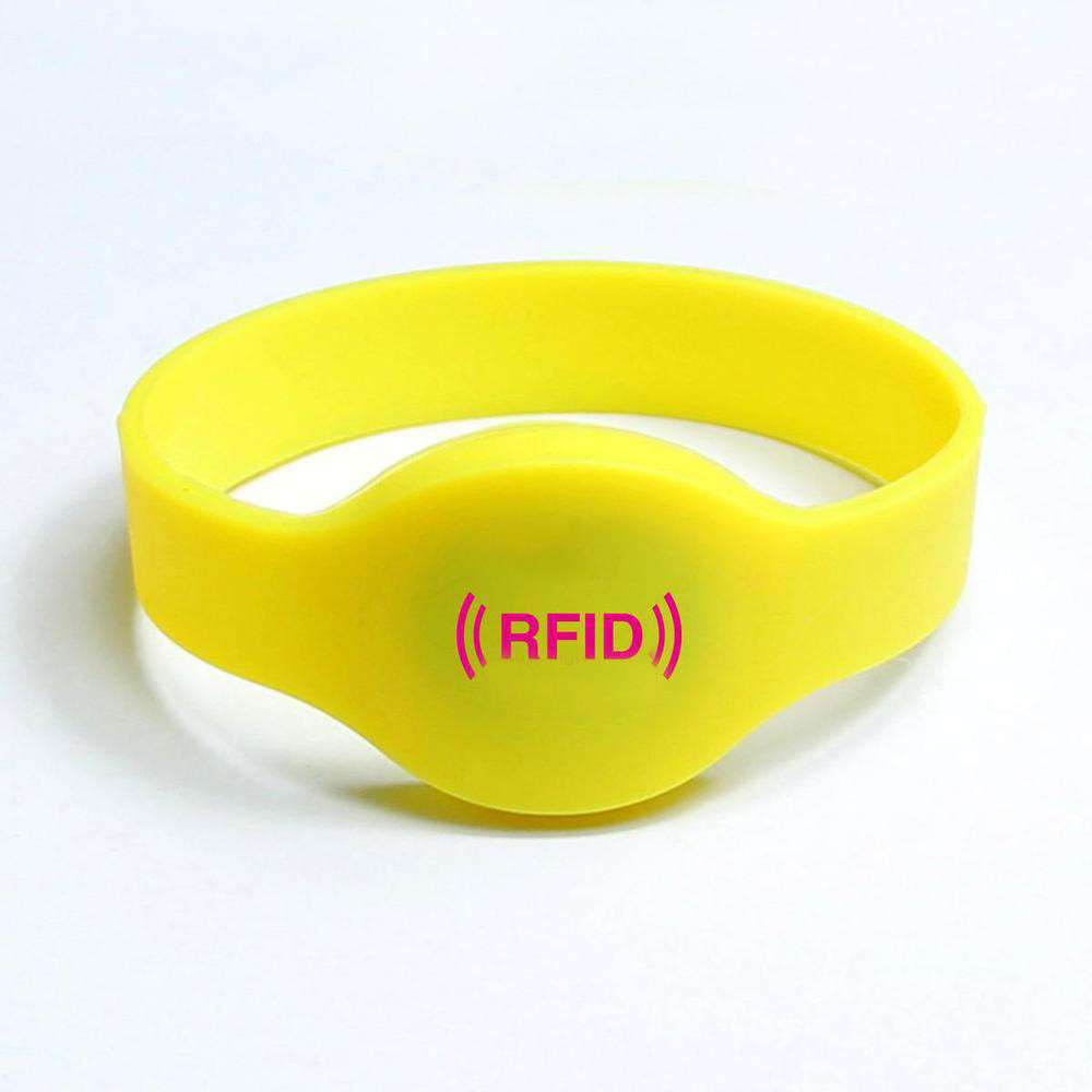 rfid chip ntag tag access silicone wristband card product electronic from with adjustable control bracelet