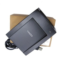RFID Reader EM4305 FDX-B T5577 FDX-A EMID 125KHZ Animal Electronic Tag Professional Card Writer Reader