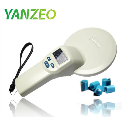 RFID Animal Livestock Ear Tag Handheld Reader 134.2KHz/125KHz FDX-A FDX-B RFID Reader Writer Device