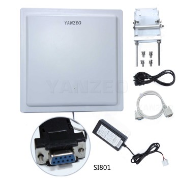 Yanzeo SI801 UHF RFID Reader 15M Long Range UHF Integrated Reader IP65 RS485 Wiegand 26/34