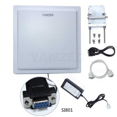 Yanzeo SI801 UHF RFID Reader 15M Long Range UHF Integrated Reader IP65 RS485 Wiegand 26/34