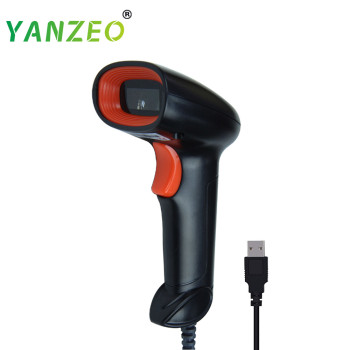 Yanzeo L1000 Portable USB Wired Handheld Laser For Store IOS Android IPAD 1D Barcode Scanner