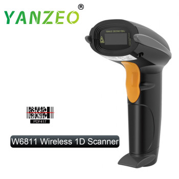 Yanzeo C2000 Wired USB Laser Handheld Portable QR Code Data Matrix 2D Barcode Scanner