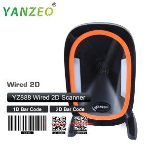 Yanzeo YZ888 20 lines High Speed Omni-directional USB RS232 2D Photo Barcode scanner