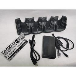 CRD7000-4000ER para la base de carga Ethernet de 4 ranuras Symbol Motorola