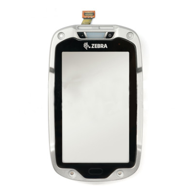 Pantalla táctil con tapa frontal para Motorola Symbol Zebra TC8000 TC80NH