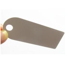 Kleidung RFID-Tag, 860 ~ 960MHz PVC Hard Tag