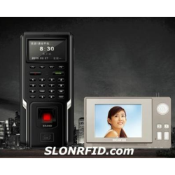 Контроль доступа отпечатков пальцев видеодомофон