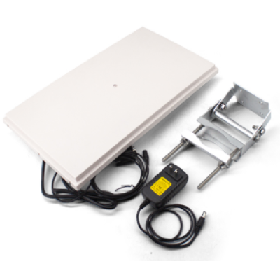R1610 10DBI High Speed 12M Long Range Integrated UHF RFID Reader Writer RS485 RS232 Waterproof 865~928MHz