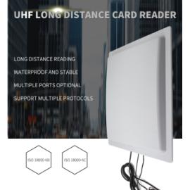 YANZEO UHF RFID Reader Writer R1612 12DBI High Speed 0-35M Long Range Integrated RS485 RS232 USB