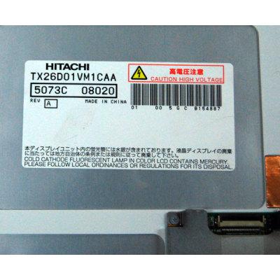 HITACHI LCD PANEL TX09D04VM3CAA ,TX11D04VM2AA ,TX13D03VM1CAA ,TX26D01VM1CAA