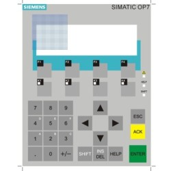 Siemens Touch Screen , Membrane Switch , Keypad  6AV3607-1nh01-0ax0   Tp7