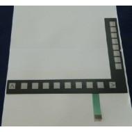Siemens Touch Screen , Membrane Switch , Keypad 6AV6545-0DA10-0AX0   MP370