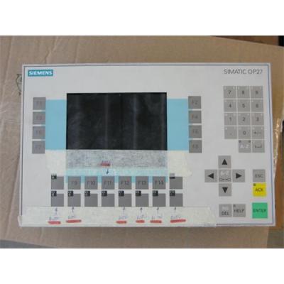 Siemens Touch Screen , Membrane Switch , Keypad  6AV3 637-7ab26-1AA0  OEM Op37